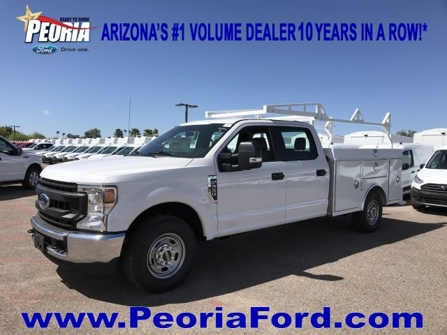 2020 F-250 Crew Cab 4x2, RhinoPro Truck Outfitters Service Body #LEC24683 - photo 16