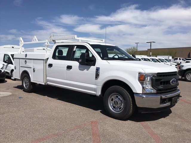 2020 Ford F-250 Crew Cab 4x2, RhinoPro Truck Outfitters Service Body #LEC24683 - photo 1
