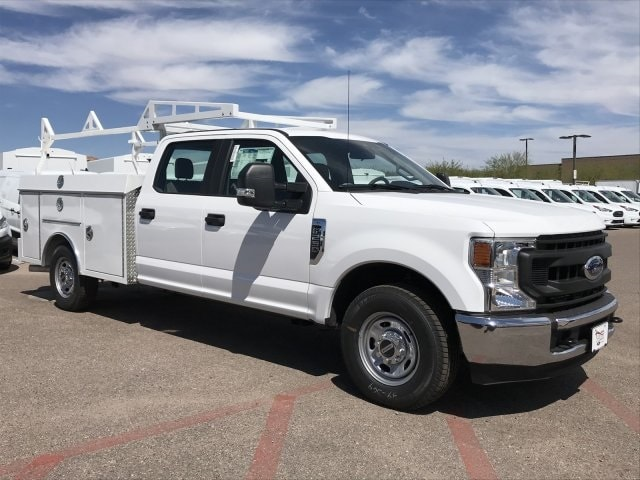 2020 F-250 Crew Cab 4x2, RhinoPro Truck Outfitters Service Body #LEC24689 - photo 1