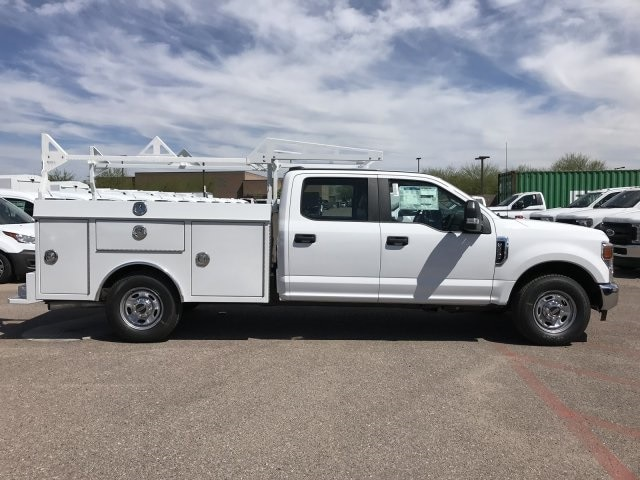 2020 F-250 Crew Cab 4x2, RhinoPro Truck Outfitters Service Body #LEC24689 - photo 6