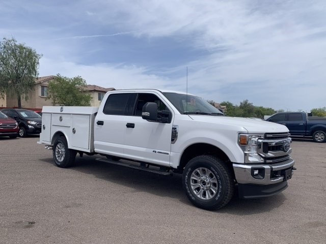 2020 F-350 Crew Cab 4x4, RhinoPro Truck Outfitters Service Body #LEC24708 - photo 1