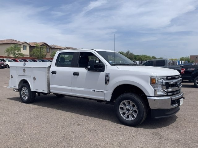 2020 F-350 Crew Cab 4x4, RhinoPro Truck Outfitters Service Body #LEC24709 - photo 1