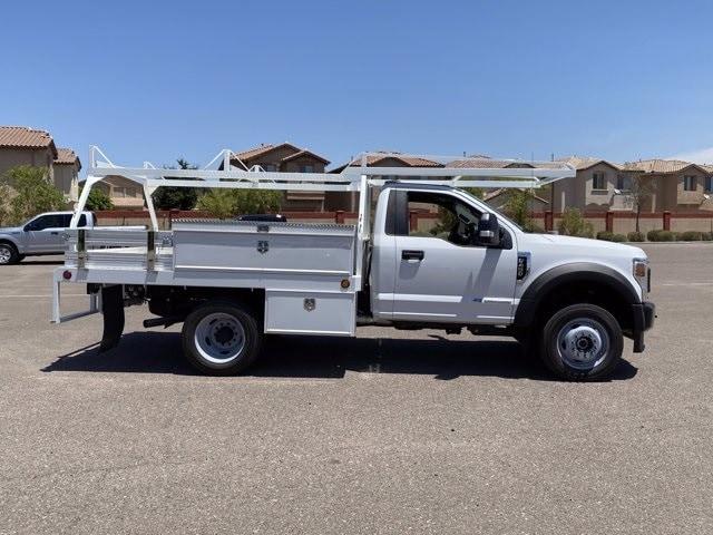 2020 Ford F-450 Regular Cab DRW 4x4, Scelzi CTFB Contractor Body #LEC49920 - photo 5