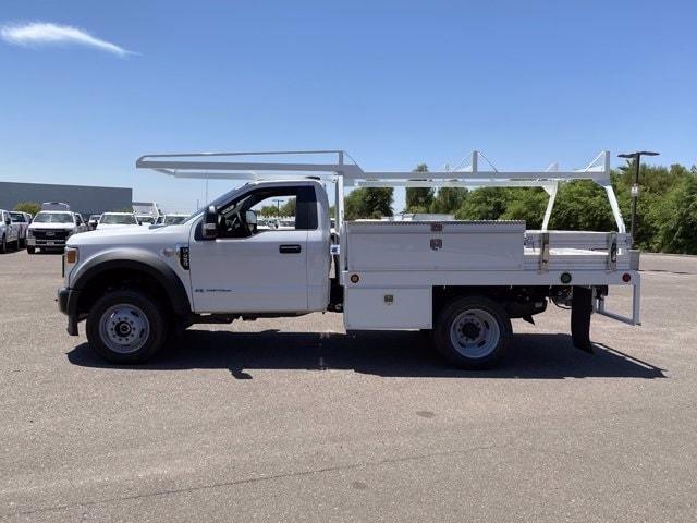 2020 Ford F-450 Regular Cab DRW 4x4, Scelzi CTFB Contractor Body #LEC49920 - photo 6