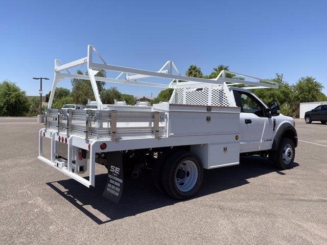 2020 Ford F-450 Regular Cab DRW 4x4, Scelzi Contractor Body #LEC49920 - photo 1