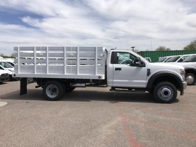 2020 F-450 Regular Cab DRW 4x2, Scelzi Stake Bed #LEC57479 - photo 4