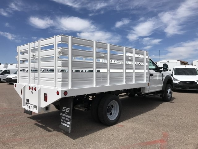 2020 F-450 Regular Cab DRW 4x2, Scelzi Stake Bed #LEC57479 - photo 1