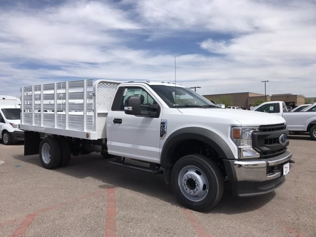 2020 Ford F-450 Regular Cab DRW 4x2, Scelzi SFB Platform Body #LEC57479 - photo 1