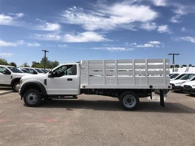 2020 F-450 Regular Cab DRW 4x2, Scelzi Stake Bed #LEC57479 - photo 5