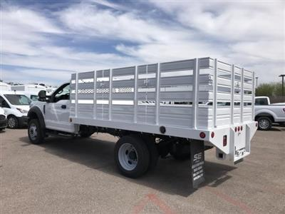 2020 F-450 Regular Cab DRW 4x2, Scelzi Stake Bed #LEC57479 - photo 6