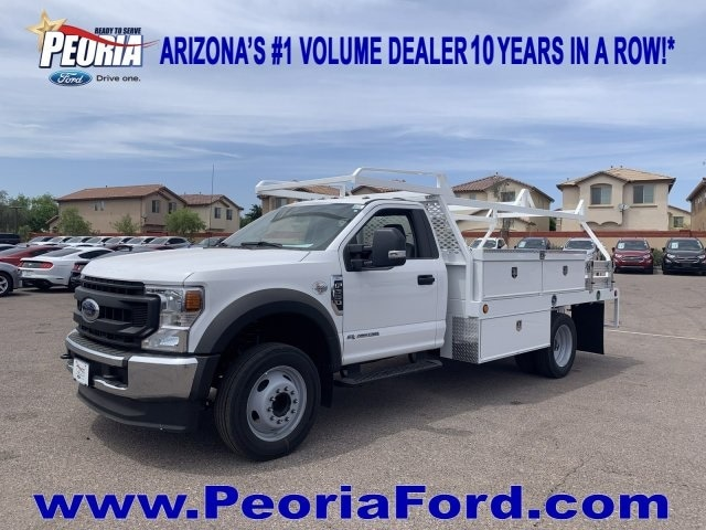 2020 F-550 Regular Cab DRW 4x2, Scelzi CTFB Contractor Body #LEC57489 - photo 15