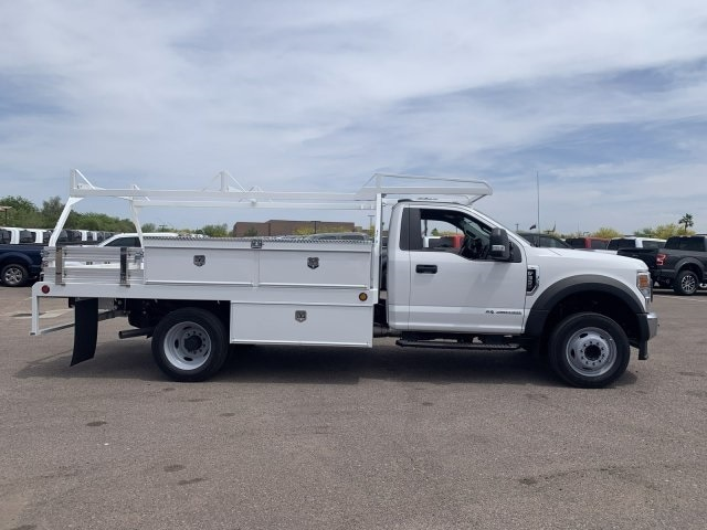 2020 F-550 Regular Cab DRW 4x2, Scelzi CTFB Contractor Body #LEC57489 - photo 3