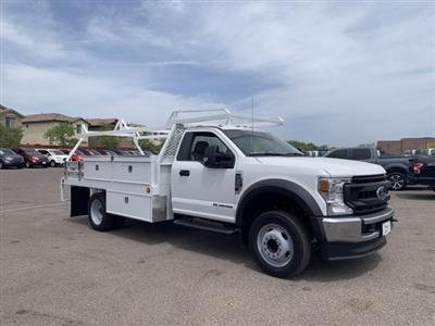 2020 F-550 Regular Cab DRW 4x2, Scelzi CTFB Contractor Body #LEC57489 - photo 2