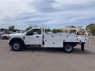 2020 F-550 Regular Cab DRW 4x2, Scelzi CTFB Contractor Body #LEC57489 - photo 4