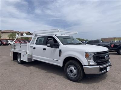 2020 F-350 Crew Cab DRW 4x2, Scelzi CTFB Contractor Body #LEC57508 - photo 1