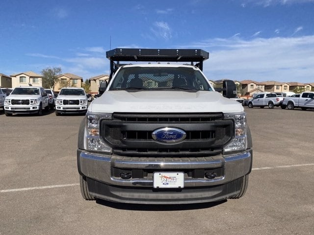 2020 Ford F-550 Regular Cab DRW 4x2, Milron Contractor Contractor Body #LED79361 - photo 4