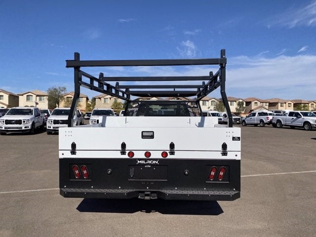 2020 Ford F-550 Regular Cab DRW 4x2, Milron Contractor Contractor Body #LED79364 - photo 9
