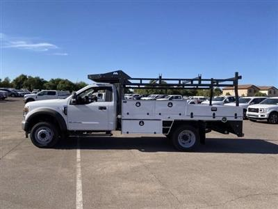 2020 Ford F-550 Regular Cab DRW 4x2, Milron Contractor Contractor Body #LED79364 - photo 6