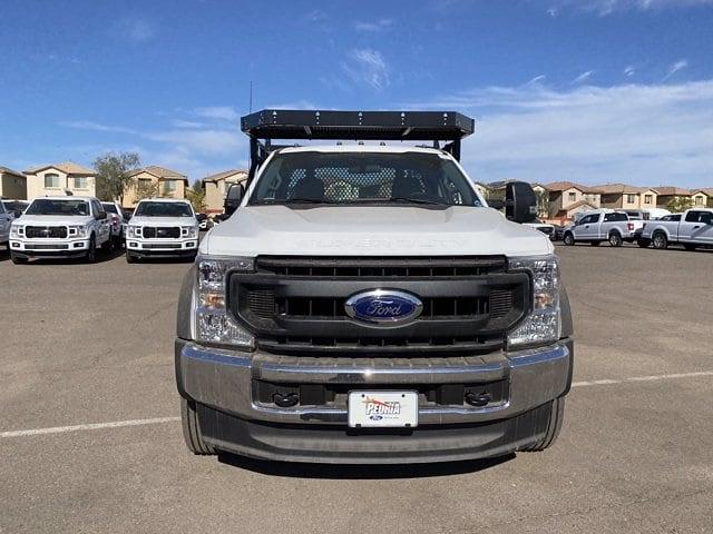 2020 Ford F-550 Regular Cab DRW 4x4, Milron Contractor Contractor Body #LED87547 - photo 3