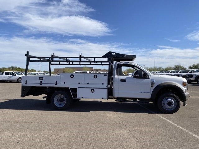 2020 Ford F-550 Regular Cab DRW 4x4, Milron Contractor Contractor Body #LED87547 - photo 4