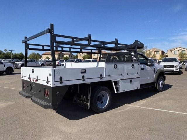2020 Ford F-550 Regular Cab DRW 4x4, Milron Contractor Body #LED87547 - photo 1