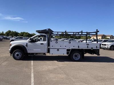 2020 Ford F-550 Regular Cab DRW 4x4, Milron Contractor Contractor Body #LED87547 - photo 5