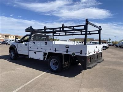 2020 Ford F-550 Regular Cab DRW 4x4, Milron Contractor Contractor Body #LED87547 - photo 7