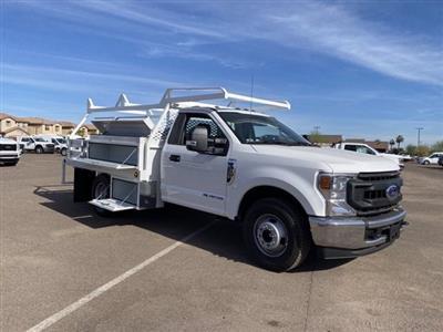 2020 Ford F-350 Regular Cab DRW 4x2, Scelzi CTFB Contractor Body #LEE53345 - photo 1