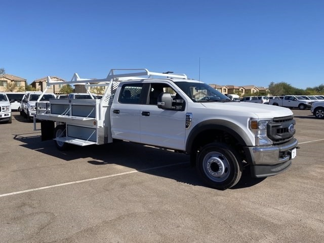 2020 Ford F-550 Crew Cab DRW 4x2, Scelzi Contractor Body #LEE87710 - photo 1