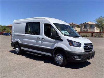 2020 Ford Transit 350 Med Roof RWD, Empty Cargo Van #LKA06746 - photo 1