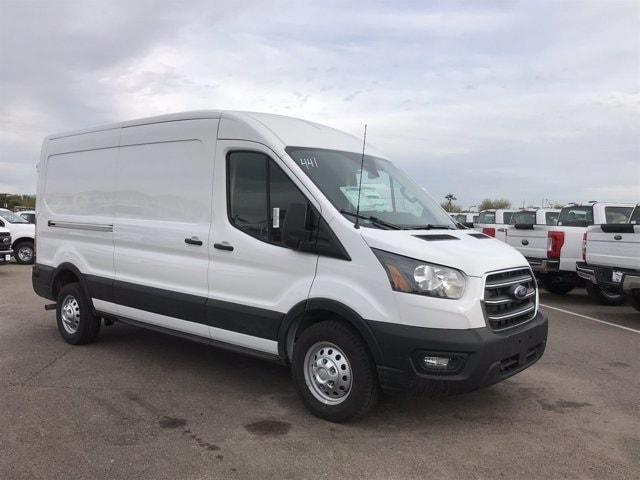 2020 Ford Transit 250 Med Roof AWD, Empty Cargo Van #LKA30821 - photo 1