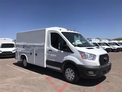 2020 Ford Transit 350 RWD, Knapheide KUV Service Utility Van #LKA46407 - photo 1