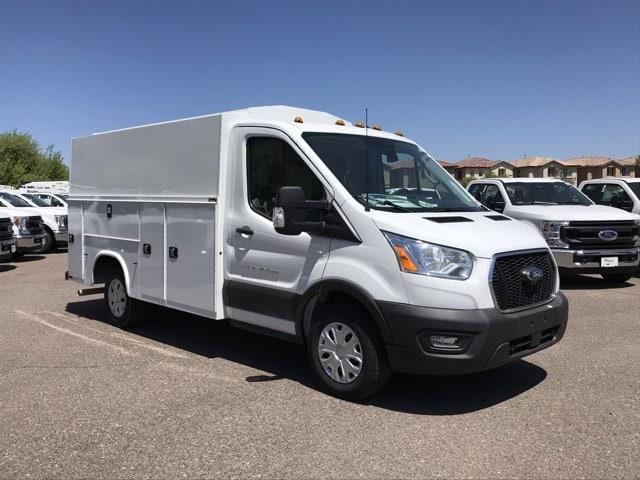 2020 Ford Transit 350 4x2, Knapheide Service Utility Van #LKA50664 - photo 1