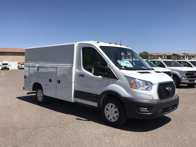2020 Ford Transit 350 RWD, Knapheide KUV Service Utility Van #LKA50674 - photo 1