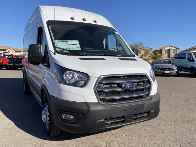 2020 Ford Transit 350 HD High Roof DRW RWD, Empty Cargo Van #LKB21206 - photo 3