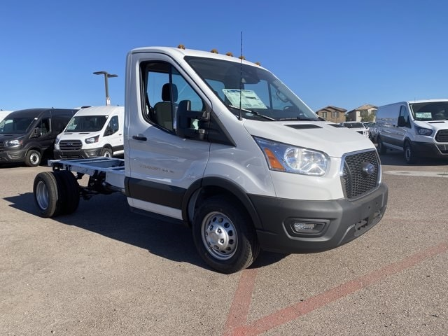 2020 Ford Transit 350 HD DRW 4x2, Cab Chassis #LKB31032 - photo 1