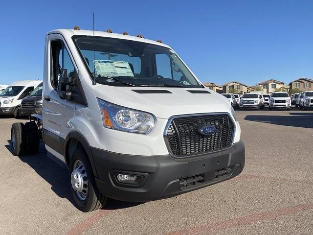 2020 Ford Transit 350 HD DRW 4x2, Cab Chassis #LKB31032 - photo 3