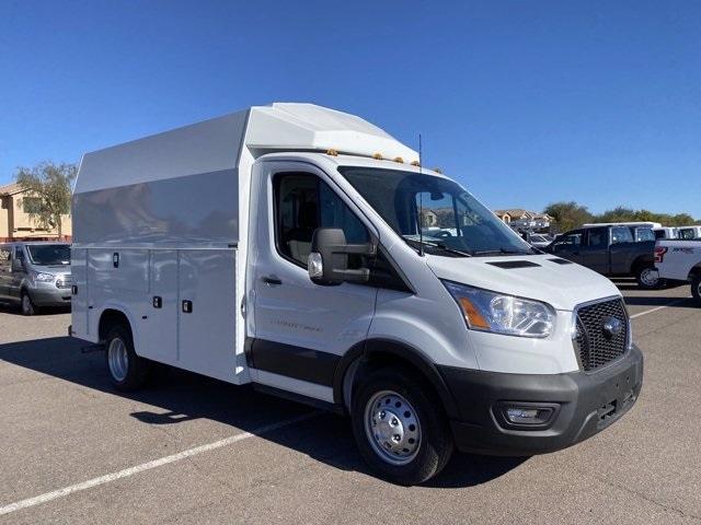2020 Ford Transit 350 HD DRW 4x2, Knapheide KUV Service Utility Van #LKB50672 - photo 1