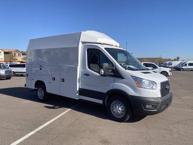 2020 Ford Transit 350 HD DRW 4x2, Knapheide Service Utility Van #LKB50673 - photo 1