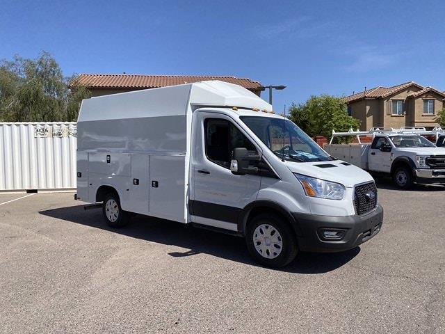 2020 Ford Transit 350 4x2, Knapheide KUV Service Utility Van #LKB65116 - photo 1