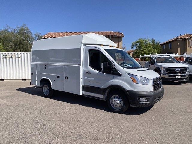2020 Ford Transit 350 HD DRW 4x2, Knapheide KUV Service Utility Van #LKB65240 - photo 1