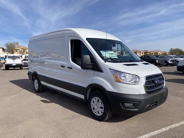 2020 Ford Transit 250 Med Roof 4x2, Empty Cargo Van #LKB68257 - photo 1