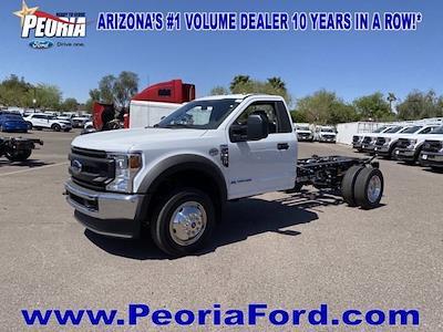 2021 Ford F-450 Regular Cab DRW 4x4, Cab Chassis #MDA04888 - photo 2