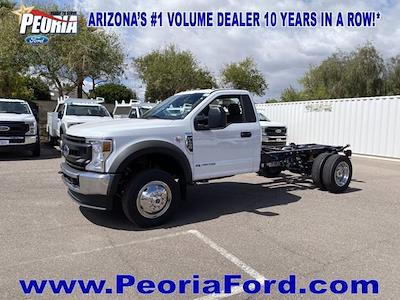 2021 Ford F-450 Regular Cab DRW 4x4, Cab Chassis #MDA04891 - photo 1