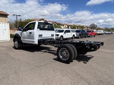2021 Ford F-450 Regular Cab DRW 4x4, Cab Chassis #MDA04891 - photo 3