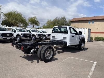 2021 Ford F-550 Regular Cab DRW 4x2, Cab Chassis #MDA04893 - photo 3