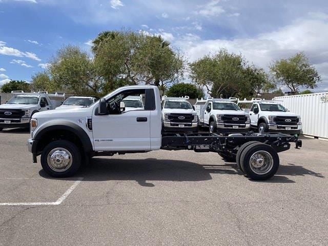 2021 Ford F-550 Regular Cab DRW 4x2, Cab Chassis #MDA04894 - photo 6