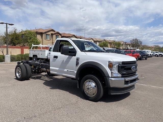 2021 Ford F-550 Regular Cab DRW 4x4, Cab Chassis #MDA04896 - photo 1