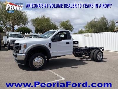 2021 Ford F-550 Regular Cab DRW 4x4, Cab Chassis #MDA04897 - photo 21