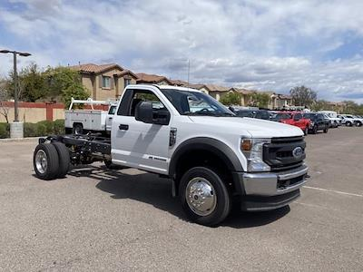 2021 Ford F-550 Regular Cab DRW 4x4, Cab Chassis #MDA04897 - photo 1